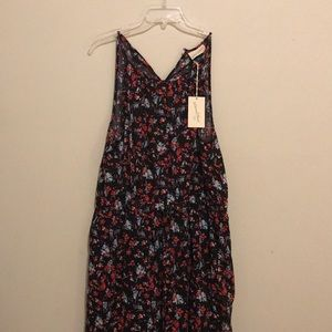 floral maxi dress / new with tags